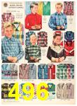 1956 Sears Fall Winter Catalog, Page 496