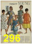 1962 Sears Spring Summer Catalog, Page 296