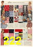 1958 Sears Spring Summer Catalog, Page 222