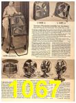 1956 Sears Fall Winter Catalog, Page 1067