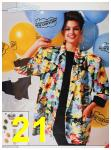 1986 Sears Spring Summer Catalog, Page 21