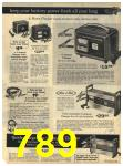 1971 Sears Fall Winter Catalog, Page 789