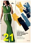 1974 Sears Spring Summer Catalog, Page 21
