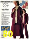 1978 Sears Fall Winter Catalog, Page 80