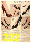 1956 Sears Fall Winter Catalog, Page 222