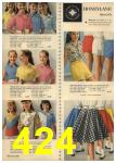 1961 Sears Spring Summer Catalog, Page 424