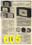 1968 Sears Fall Winter Catalog, Page 605