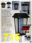 1986 Sears Spring Summer Catalog, Page 715