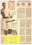 1949 Sears Spring Summer Catalog, Page 342