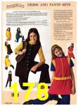 1971 Sears Fall Winter Catalog, Page 178