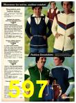 1977 Sears Fall Winter Catalog, Page 597
