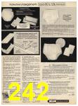 1982 Sears Fall Winter Catalog, Page 242