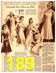 1940 Sears Fall Winter Catalog, Page 189