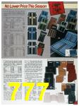 1985 Sears Fall Winter Catalog, Page 777