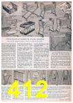 1957 Sears Spring Summer Catalog, Page 412