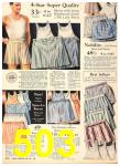 1940 Sears Fall Winter Catalog, Page 503