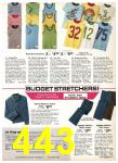 1977 Sears Spring Summer Catalog, Page 443