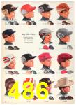 1958 Sears Fall Winter Catalog, Page 486