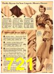1940 Sears Fall Winter Catalog, Page 721