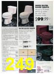 1989 Sears Home Annual Catalog, Page 249