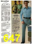 1978 Sears Fall Winter Catalog, Page 647