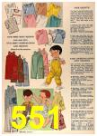 1964 Sears Spring Summer Catalog, Page 551