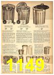 1958 Sears Fall Winter Catalog, Page 1149
