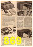 1963 Sears Fall Winter Catalog, Page 869
