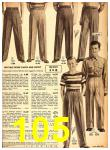 1949 Sears Spring Summer Catalog, Page 105