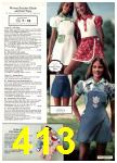 1977 Sears Spring Summer Catalog, Page 413