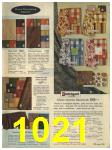 1965 Sears Fall Winter Catalog, Page 1021