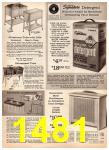 1966 Montgomery Ward Fall Winter Catalog, Page 1481