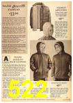 1962 Sears Fall Winter Catalog, Page 522