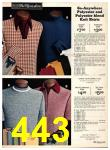 1973 Sears Fall Winter Catalog, Page 443