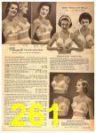 1958 Sears Spring Summer Catalog, Page 261