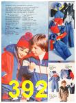 1987 Sears Fall Winter Catalog, Page 392