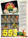 1985 Sears Christmas Book, Page 553
