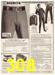 1969 Sears Fall Winter Catalog, Page 308