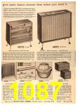 1960 Sears Fall Winter Catalog, Page 1087