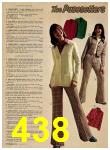 1974 Sears Fall Winter Catalog, Page 438