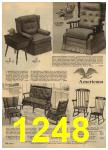 1961 Sears Spring Summer Catalog, Page 1248