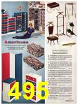 1971 Sears Fall Winter Catalog, Page 495