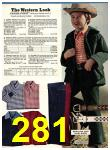 1974 Sears Fall Winter Catalog, Page 281