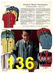 1965 Sears Fall Winter Catalog, Page 136