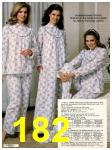 1982 Sears Fall Winter Catalog, Page 182