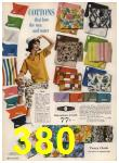 1962 Sears Spring Summer Catalog, Page 380