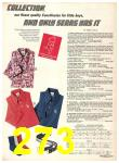 1974 Sears Fall Winter Catalog, Page 273
