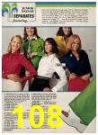 1974 Sears Spring Summer Catalog, Page 108