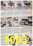 1957 Sears Spring Summer Catalog, Page 1003