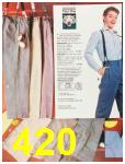 1987 Sears Fall Winter Catalog, Page 420